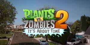 Plants vs. Zombies 2 Dünya Genelinde 16 Milyon Kez İndirildi