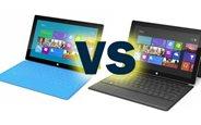 Surface RT ile Surface Pro Karşılaştırması