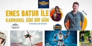 İzmir Arena'da 23 Nisan Tekno Karnaval Coşkusu