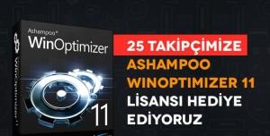 25 Takipçimize Ashampoo WinOptimizer 11 Lisansı Hediye Ediyoruz (Sona Erdi)