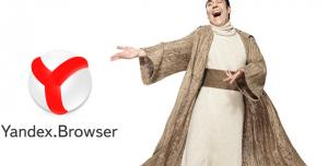Yandex Browser Güncellendi