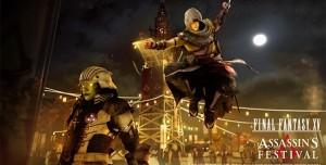 Assassin's Creed ve Final Fantasy Hiç Beklenmedik Şekilde Bir Araya Geldi
