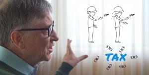Bill Gates: Robotlar da Vergi Ödesin