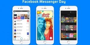 Snapchat Benzeri Facebook Messenger Day Çıktı