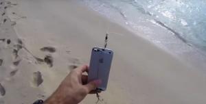 iPhone Balık Yemi Oldu!