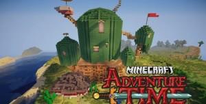 Minecraft ve Adventure Time Bir Araya Geliyor!