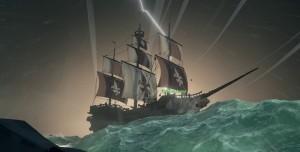 Sea of Thieves'in Büyüleyici Fırtınaları Görüntülendi