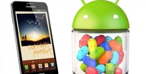 Samsung Galaxy Note İçin Android 4.1.2 Jelly Bean Çıktı