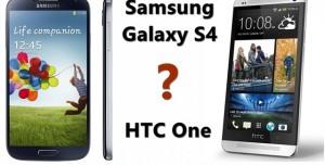 Samsung Galaxy S4 İle HTC One Karşılaştırması