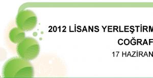 2012 LYS-4 Coğrafya 2 Testi Soruları ve Cevapları