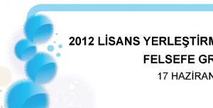 2012 LYS-4 Felsefe Testi Soruları ve Cevapları