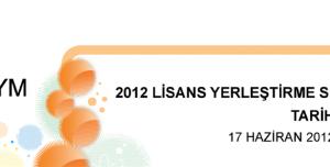 2012 LYS-4 Tarih Testi Soruları ve Cevapları