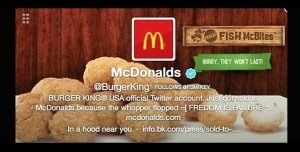 Burger King'in Twitter Hesabı Hacklendi