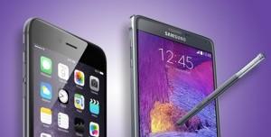 iPhone 6 Plus ve Galaxy Note 4 Karşılaştırması
