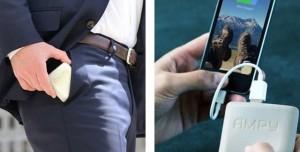 Siz Hareket Ettikçe Şarj Olan Taşınabilir Batarya Ampy Şarj Problemini Ortadan Kaldırıyor