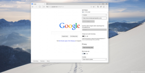 Project Spartan için Google Arama Kurulum Rehberi