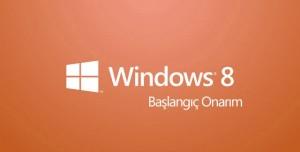 Windows 8 Başlangıç Onarma Ayarları Nasıl Yapılır?