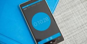 Windows Phone Sonunda Bir Kronometre Uygulamasına Ulaştı