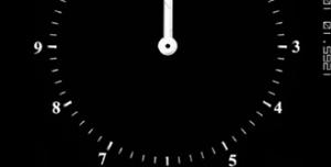 Clock on Fire