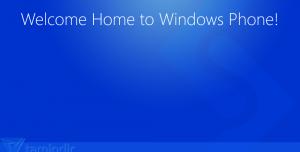 Welcome Home To Windows Phone