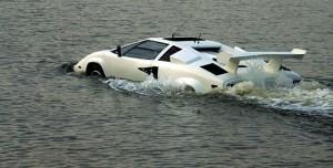 Suda Yüzen Lamborghini ile James Bond Olmak Artık Hayal Değil