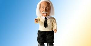 Einstein Öğretmeye Devam Ediyor. Fakat Bu Sefer Robot Olarak!