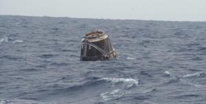 SpaceX'in Dragon Kapsülü Başarılı Bir Şekilde Dünya'ya Döndü