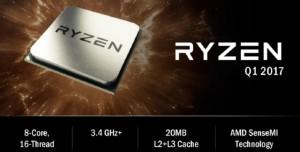 AMD'nin Zen Masaüstü İşlemcilerinin Adı ve Detayları Belli Oldu: Ryzen