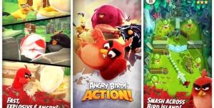 Angry Birds Action! iOS Versiyonunu Artık Oynayabiliyoruz!