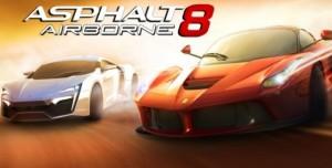 Asphalt 8 Güncellendi ve Oyuna Yeni Arabalar Eklendi