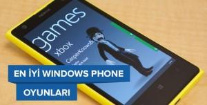En İyi Windows Phone Oyunları