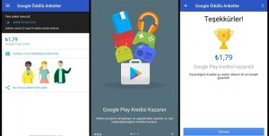 Google'ın Ödüllü Anketleri Türkiye'ye Geldi