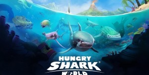 Hungry Shark World Çıktı! Hemen İndirin!