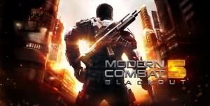 Modern Combat 5 Artık Ücretsiz İndirilebilecek!