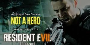 Resident Evil 7'nin Ücretsiz Not a Hero DLC'si Gecikecek