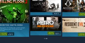 Steam'de Bu Hafta Sonu Killing Floor 2 Ücretsiz, GTA 5, RE 7 ve Ubisoft Oyunları İndirimde