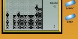 Classic Brick Game Console