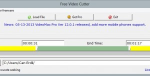 FreeStar Free Video Cutter