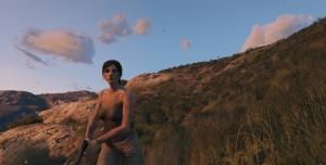 GTA 5 Tomb Raider Lara Croft Modu