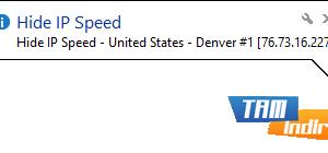 Hide IP Speed