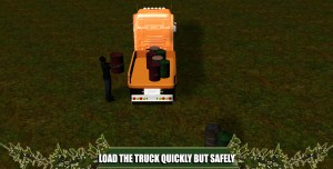 Offroad Truck Cargo Delivery