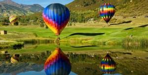 Sıcak Hava Balonları Teması