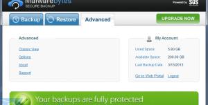 Malwarebytes Secure Backup