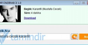 MP3 İndirmece