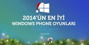 2014'ün En İyi Windows Phone Oyunları