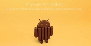 Android 4.4 KitKat Yakında Geliyor