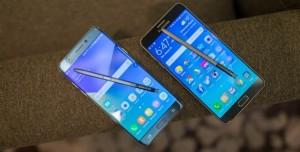 Samsung Galaxy Note 7 ve Galaxy S7 Edge Karşılaştırması