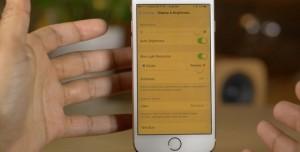 iOS 9.3 ile Gelen Night Shift Modu Nedir, Nasıl Etkinleştirilir?