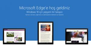 Microsoft Edge Tarayıcı Ayarlarını Sıfırlama