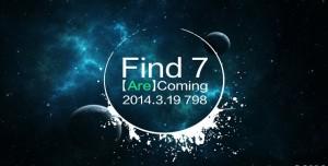 Oppo Find 7, 19 Mart'ta Resmi Olarak Tanıtılacak